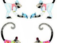 monkeys reflected
